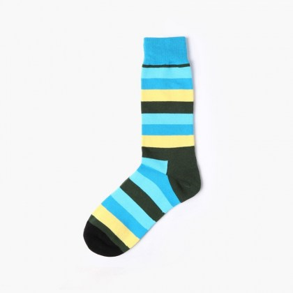 Light Blue Stripe Sock