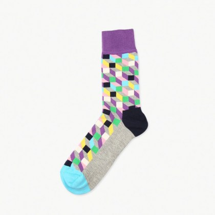 Purple Prism Sock