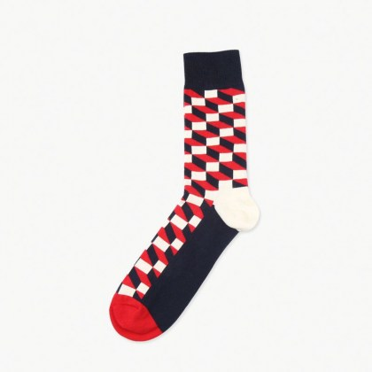 Red Prism Sock